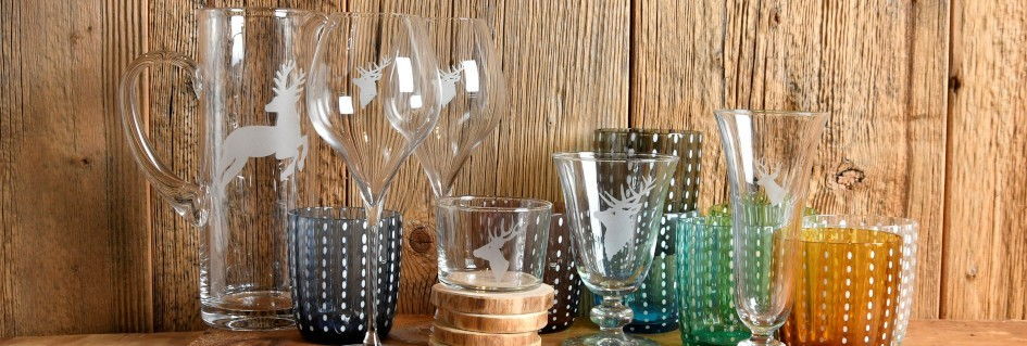 Bicchieri e caraffe