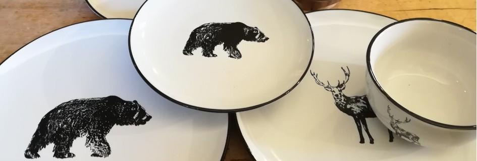 Servizio cervo / orso